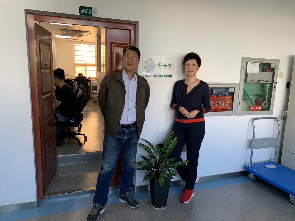 Professor Shuang-Jiang Liu visiting FungiG