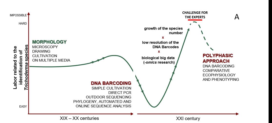 Cai & Druzhinina 2021 DNA Barcoding of fungi and labor