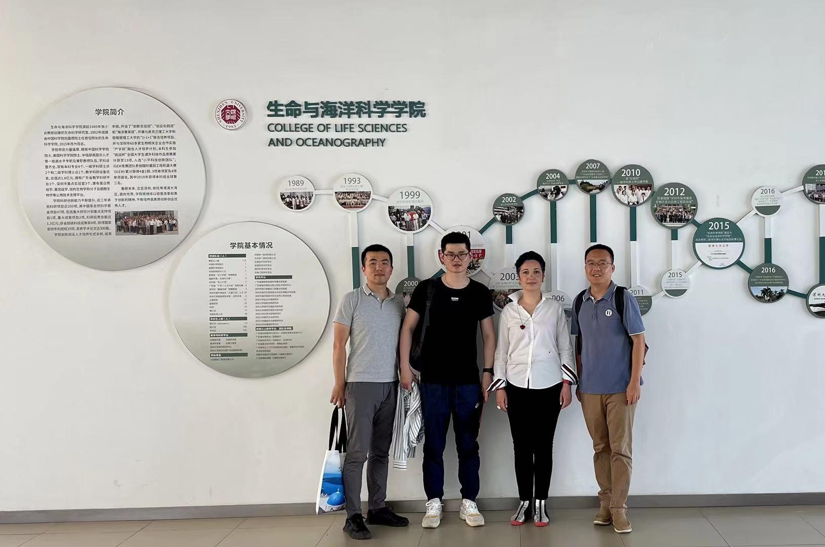 Podospora genomics Group in Schenzhen University, May 2021